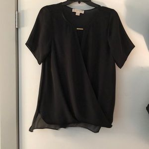 Black flowy Michael kors shirt